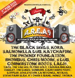 A.R.E.A. 9 Festival poster