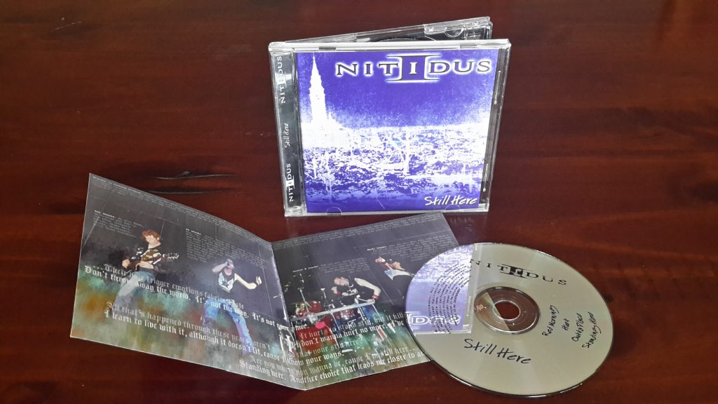 Still Here CD package